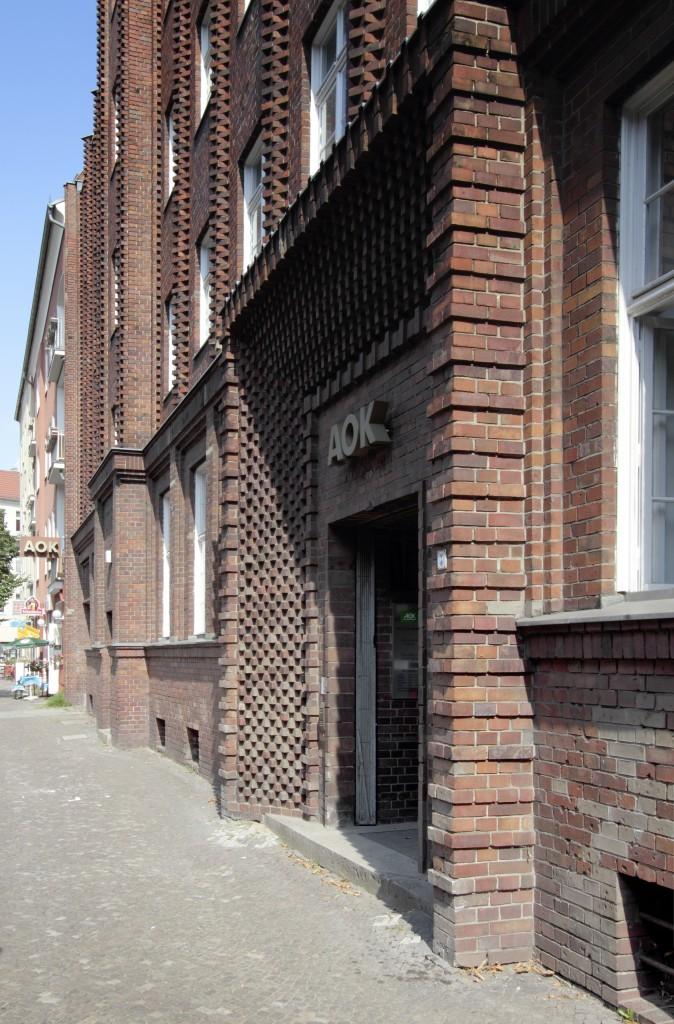 Allgemeine Ortskrankenkasse Berlin–Adlershof, Fennstraße 5-6, Berlin (G), Otto Risse Kurz Vogeler, 1929-30