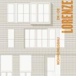 """Cover """"Lorenzen. Wohnungsbau DK-DE"""", Hatje-Cantz 2015"""