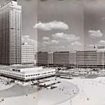 Heinz Lieber, Panorama Alexanderplatz, Fotografie, 1972, © Rechtsnachfolger Heinz Lieber, Repro: Kai-Annett Becker