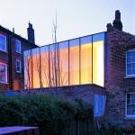 David Adjaye Elektra House (Rückseite), London, 2000, Foto: Lyndon Douglas