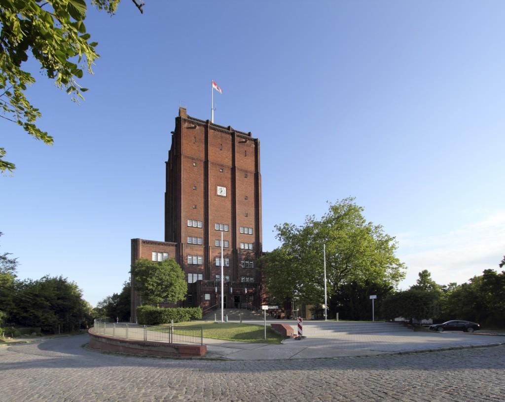 Rathaus und Wasserturm Neuenhagen | Neuenhagen Town Hall and Water Tower, Am Rathaus 1, Neuenhagen (A), Wilhelm Wagner, 1926