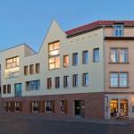 Anerkennung: Osterwold*Schmidt EXP!ANDER Architekten BDA, Schottenhöfe, Wohnen an der Krämerbrücke, Erfurt 2009-2011 (Bauherr: C.U.L.T. Bauen & Wohnen GmbH), Foto: Steffen Groß