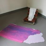 Stiftung Bauhaus Dessau, Haushaltsmesse 2015, Yane Calovski (Mazedonien): To Fold within as to Hide / Im Inneren falten als Versteck, Foto: Stiftung Bauhaus Dessau / Tassilo C. Speler, 2015