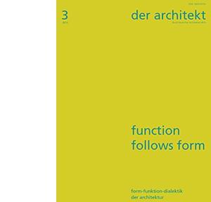 der architekt 2015-3_Inhalt