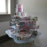 Stiftung Bauhaus Dessau, Haushaltsmesse 2015, Estudio SIC (Spanien): Gropius Evicted / Gropius geräumt, Foto: Stiftung Bauhaus Dessau / Tassilo C. Speler, 2015