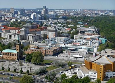 Blick_auf_Kulturforum_und_Berliner_WestCity, Foto Miriam Guterland via Wikimedia