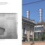 Iwan Scholtowski, Kesselhaus des Moskauer Kraftwerks, Moskau 1927-1928, Doppelseite aus dem Buch, Abb.: DOM publishers