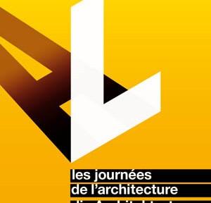 Plakat der 15. Architekturtage