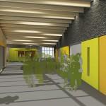A2F Architekten, Mehrzweckhalle Mastbrook, Rendsburg 2014–2016, Abb.: A2F