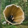 Wooden Library, Estland, Foto: Henno Luts