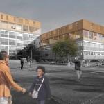 Seiten aus: Refugees Welcome. Konzepte für eine menschenwürdige Architektur, 2015, Simon Beckmann, Tassilo Gerth und Sinje Westerhaus: Für- Auf- Miteinander.