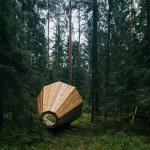 Wooden Library, Estland, Foto: Tõnu Tunnel