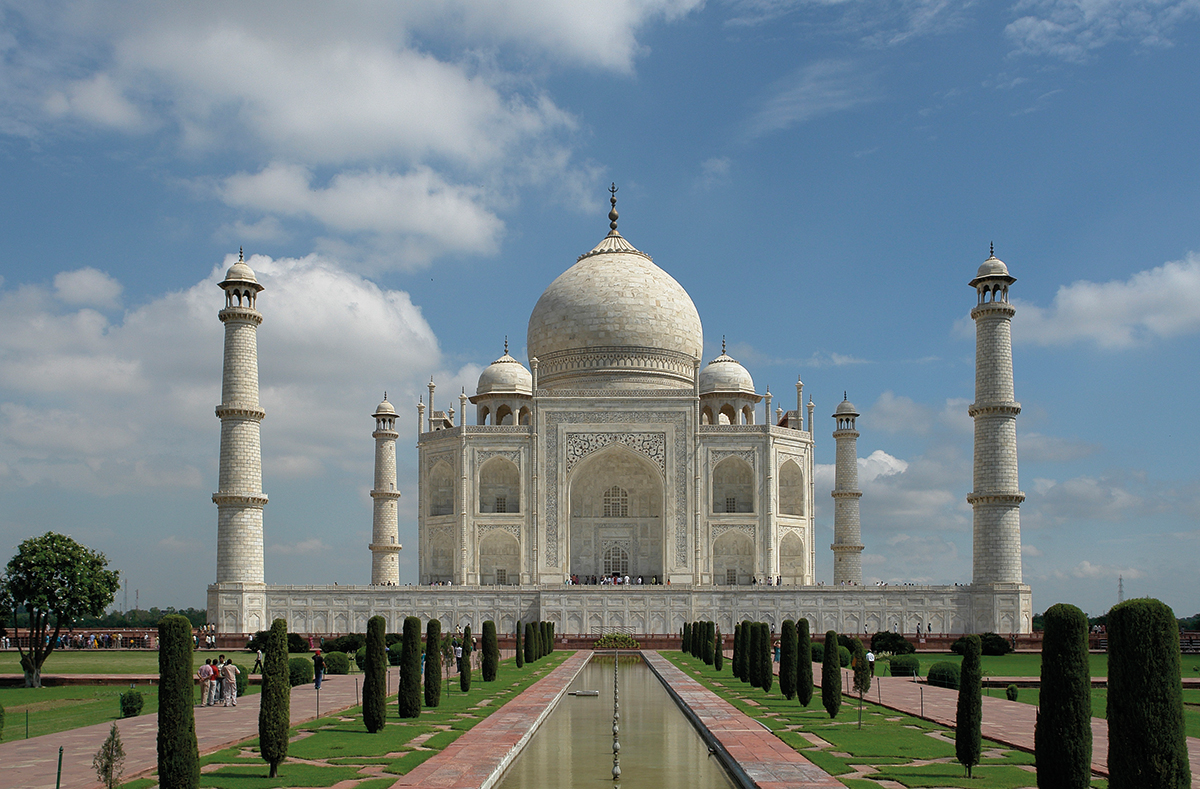 Taj Mahal, Agra India, Foto: Yann