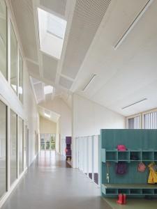 VON M, Kinder- und Familienzentrum, Ludwigsburg-Poppenweiler 2012–2014, Foto: Zooey Braun