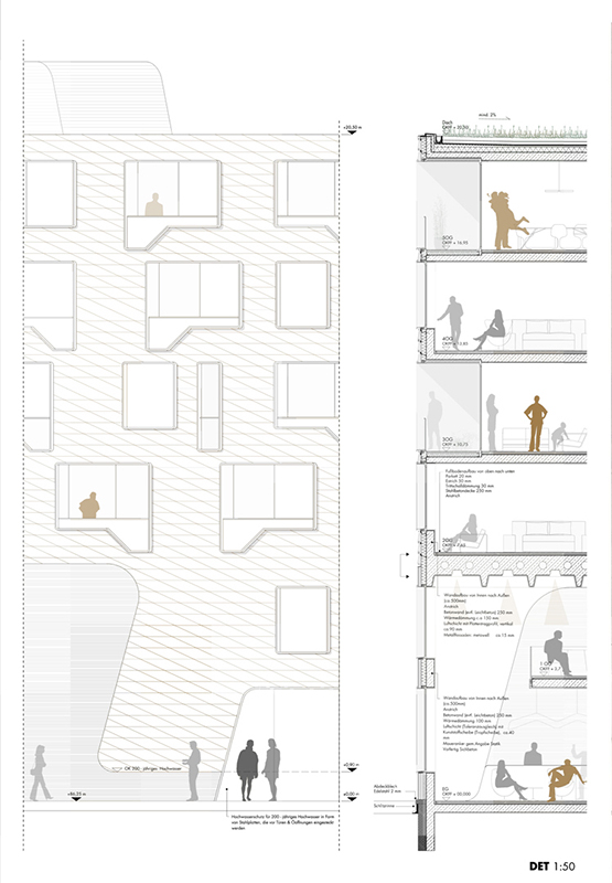 Architekten In Mainz schneider schumacher und bb22 architekten doxx mainz hafenkai