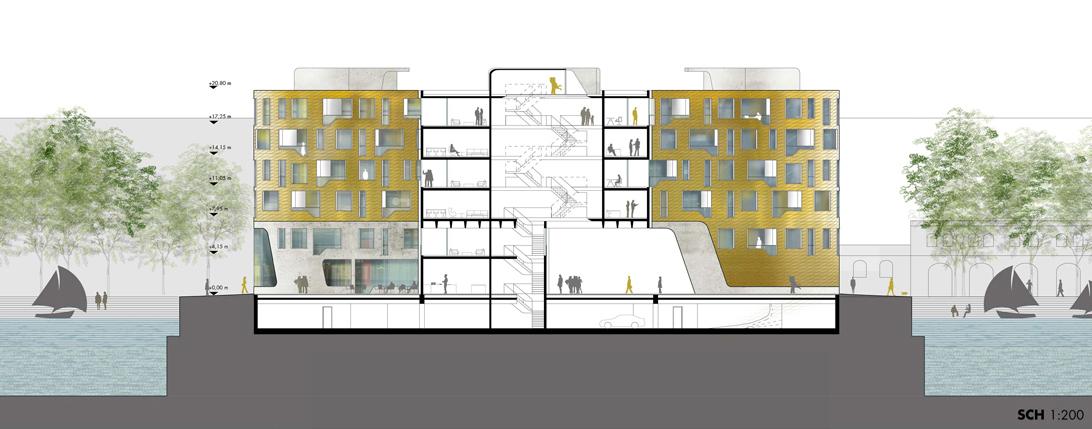 schneider schumacher und bb22 architekten doxx mainz. Black Bedroom Furniture Sets. Home Design Ideas