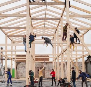 Assemble, Gruppenfoto, Foto: Assemble