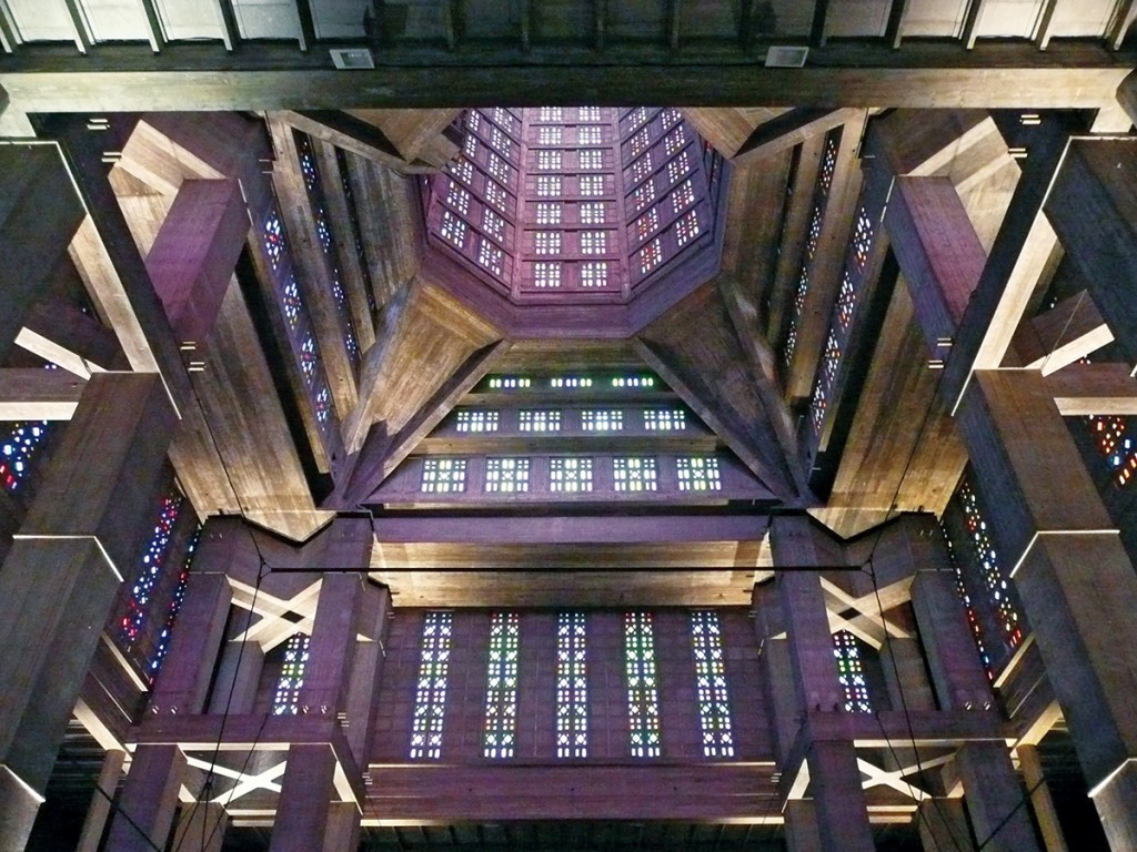 Raumerlebnis als Ergebnis von Bauchgefühl? Auguste Perret, Kirche St. Joseph, Le Havre 1951–1957, Foto: Andreas Denk