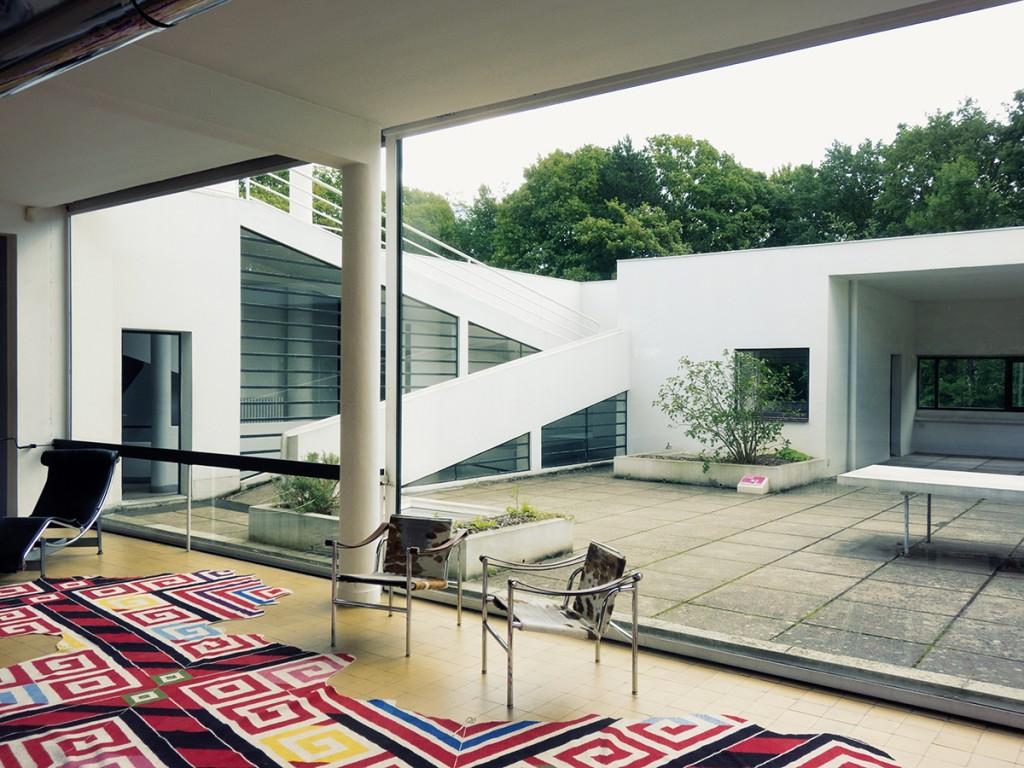 Raumerlebnis als Ergebnis von Bauchgefühl? Le Corbusier, Villa Savoye, Poissy 1929–1931, Foto: Victor Tsu (via flickr.com/ CC BY-NC 2.0)