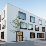 """CodeUnique Architekten, Chemielabor """"Clemens-Winkler-Bau"""" der TU Bergakademie Freiberg, Freiberg/Sachsen, Foto: Sven Otte"""