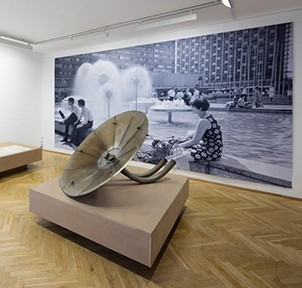 Leonie Wirth, Kunsthaus Dresden, Ausstellungsansicht, Foto David Brandt