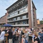 Eröffnung Nachbarschaft Samtweberei, Foto: Eberhard Weible
