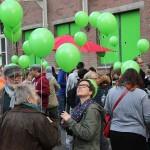 Eröffnung Nachbarschaft Samtweberei, Foto: UNS