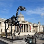Hans Haacke, Gift Horse, 2014, Trafalgar Square, London, 2015, Foto: Hans Haacke / VG Bild-Kunst, Bonn