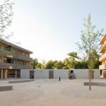 Deppisch Architekten (Bauherr: Joseph-Stiftung Kirchliches Wohnungsbauunternehmen), e% Energieeffizienter Wohnungsbau, Ansbach, Foto: Sebastian Schels
