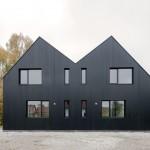 Preisträger, Studio Rauch Architektur, Stephan Rauch, München Doppelhaus, Moorenweis, Foto: Florian Holzherr