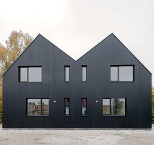 Studio Rauch Architektur, Stephan Rauch, München Doppelhaus, Moorenweis, Foto: Florian Holzherr