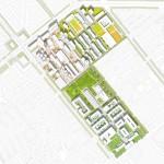 Teleinternetcafe und Treibhaus, Kreativquartier München, Lageplan, Abb.: Teleinternetcafe und Treibhaus