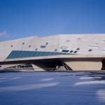 Zaha Hadid Architects, phæno, Wolfsburg 2005, Foto: Werner Huthmacher