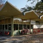 Pinguin-Café, außen, Foto: Ostmodern.org