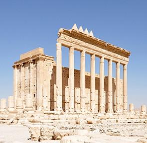 Der Baal-Tempel in Palmyra im Herbst 2010, Foto: Daniel Lohmann
