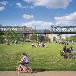 Gleisdreieck Park Berlin, nutzungsoffene Fläche im Westpark