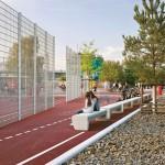 Gleisdreieck Park Berlin, Sportanlagen