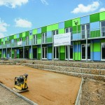 Fiedler + Partner, Freising Refugee Accommodation, Langenbach-Freising Construction site / Foto: Reinhard Fiedler