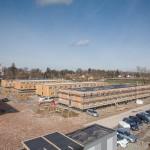 Gerstberger Architekten GmbH, München / LiWood, Flüchtlingsunterkunft, Überblick / Foto: Michael Heinrich