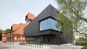 DEU, Berlin, 05/2015, Bibliothek Alte Feuerwache, Berlin Schöneweide, Architekt: Chestnutt Niess, Bildtechnik: Digital-KB