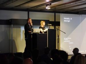Ralf Pasel und Ilka Ruby moderieren das zweite Panel, Foto: Robert Bauer