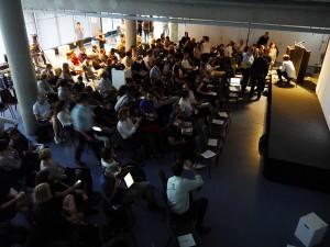 Forum der Architekturfakultät, Foto: Robert Bauer