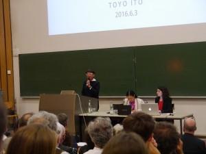 Keynote Lecture von Toyo Ito, Foto: Robert Bauer