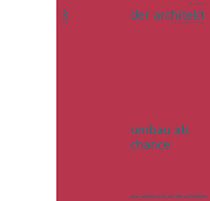 der architekt 2016-3_Cover_Teaser