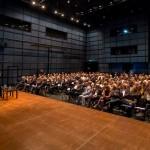 Staatssekretär Gunther Adler spricht beim BDA-Tag im ZKM Karlsruhe, Foto: Till Budde