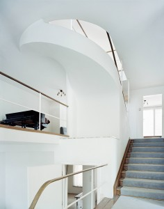 Villa Beer, Vienna, 1930; view up through main staircase © Stefan Oláh, Vienna