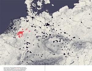 Nord- & Ostsee   North Sea & Baltic, Niederlande   Netherlands, Berlin (erschienen   published), Rhein & Ruhr, Osteuropa   Eastern Europe, Mitteldeutschland   Central Germany, Süddeutschland, Schweiz & Österreich   South Germany, Switzerland & Austria