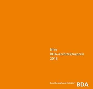 Nike BDA-Architekturpreis 2016_Cover