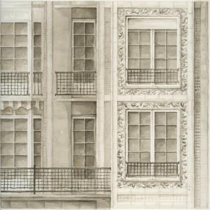 F. Schidlo: Auguste Perret, Wohnhaus in der Rue Raynouard