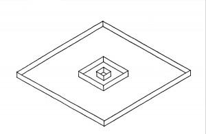 Dom Hans van der Laan, Der architektonische Raum, Innen und Außen